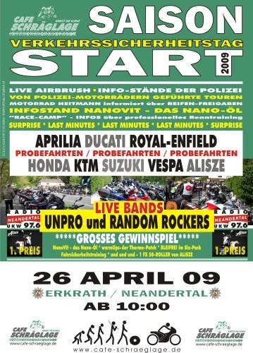 Promotionbild zur Veranstaltung Saisoneröffnung im Café Schräglage