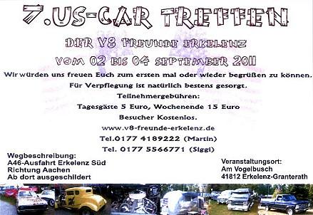 Promotionbild zur Veranstaltung 7. US-Car-Treffen
