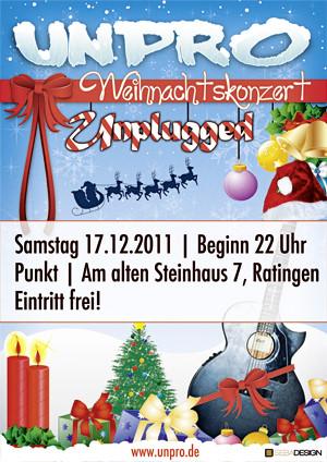 Promotionbild zur Veranstaltung Akkustikkonzert (vorweihnachtlich)
